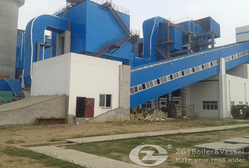 Big Scall biomass boiler for sugar industry
