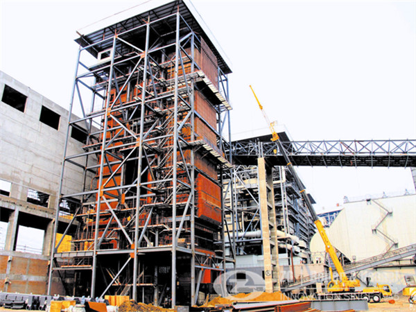 Chaudière biomasse Power Plant